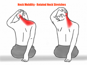 Neck Mobility - Rotated Neck Stretches