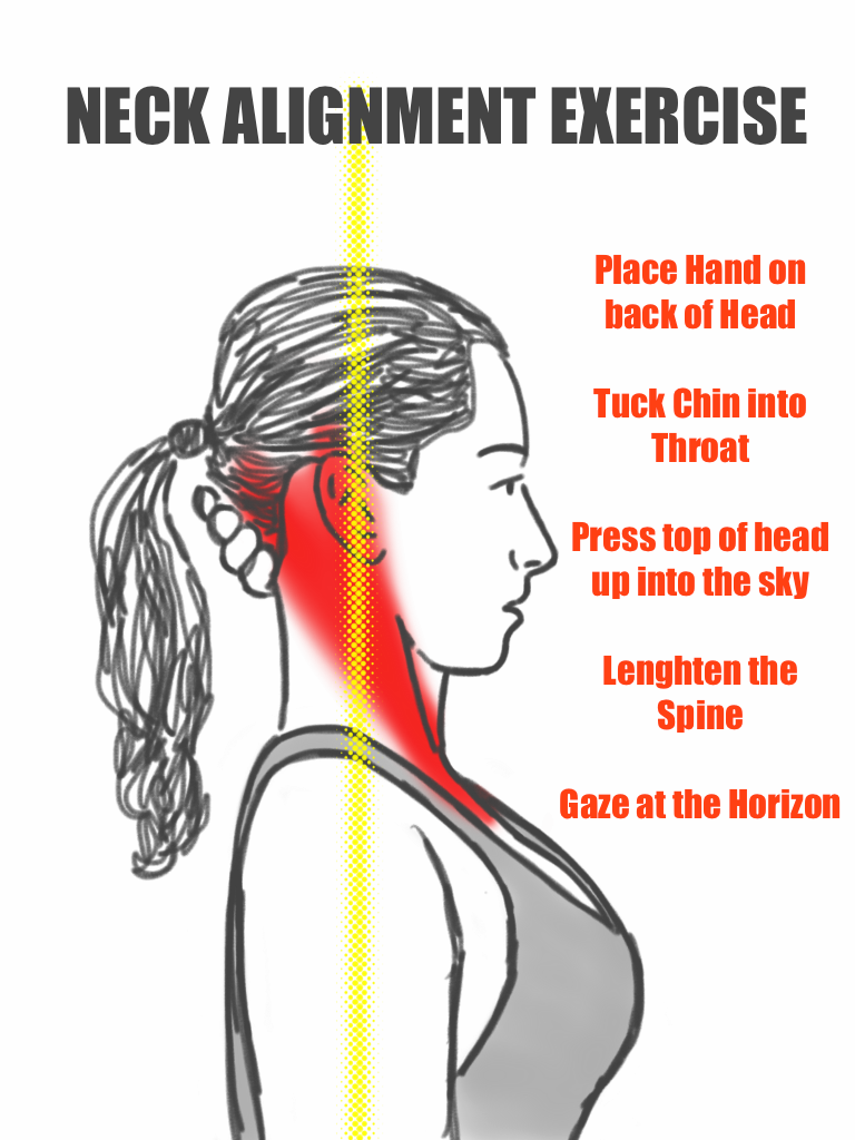 PreHab Exercises: Neck Alignment Exercise