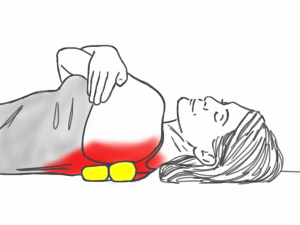 Soft Tissue Therapy - Balling the Lower Trapezius and Rhomboids Muscles and Mobilizing the Thoracic Spine and Neck