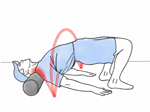 Soft Tissue Therapy - Foam Rolling the Trapezius and Neck Muscles