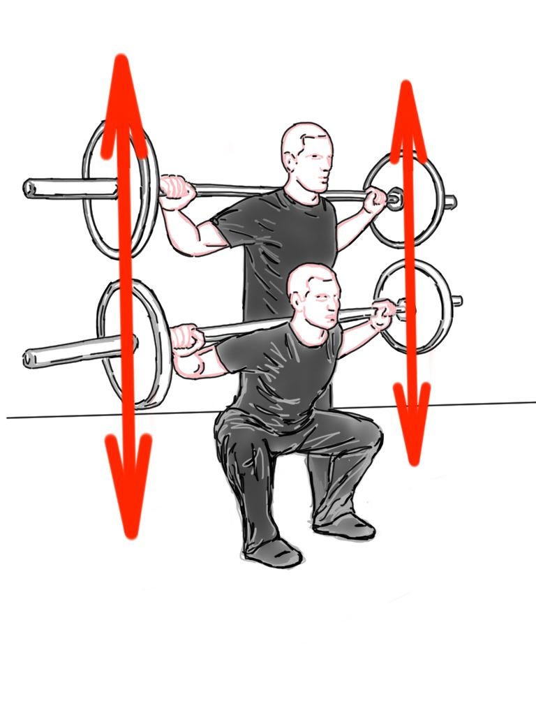 PreHab Exercises - Back Squat for Hip Activation and Strength