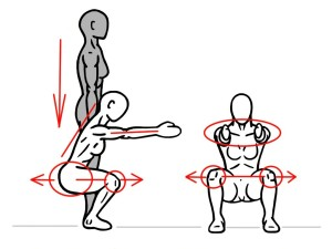 PreHab Exercises - Air Squat for Hip Mobility and Activation