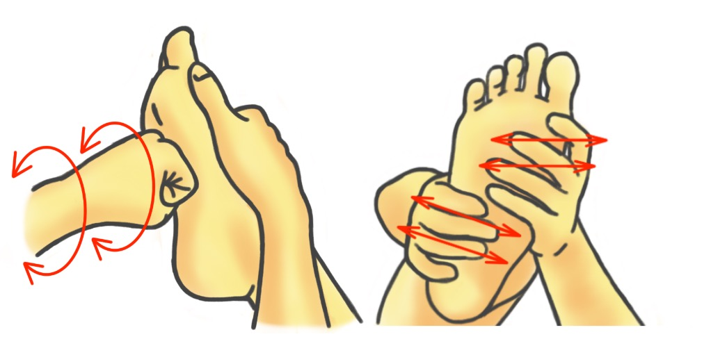 PreHab Exercises - Soft Tissue Therapy for the Foot - Knuckle Massage and Finger Cross-Fibering Massage