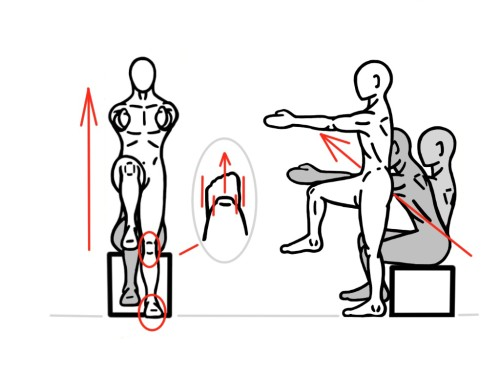 PreHab Exercises - Single-Leg Squat to/from Bench