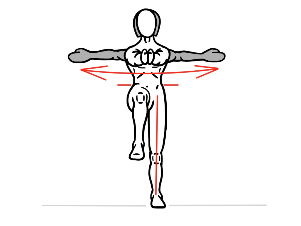PreHab Exercises - Single-Leg Rotation for Foot an Ankle Activation and Stability