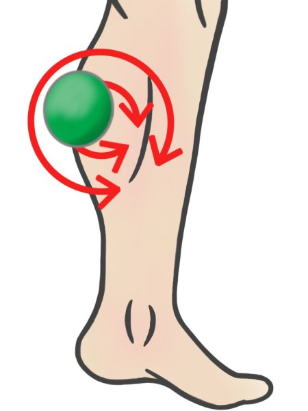 Soft Tissue Therapy - Circling over Calf