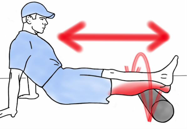 Soft Tissue Therapy - Foam Rolling the Calf and Ankle