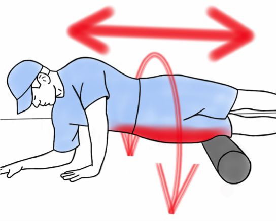 Soft Tissue Therapy - Foam Rolling the Hips, Thighs and the IT Band