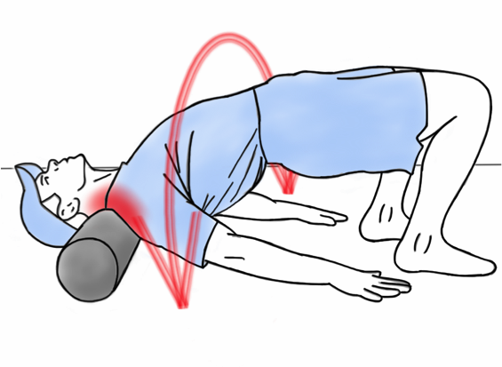 Soft Tissue Therapy - Foam Rolling the Shoulders and Trapz