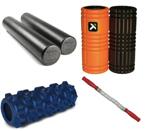 Soft Tissue Therapy Tools - Foam Rollers, Trigger Point Roller, Rumbler Roller and the Myofascial Stick