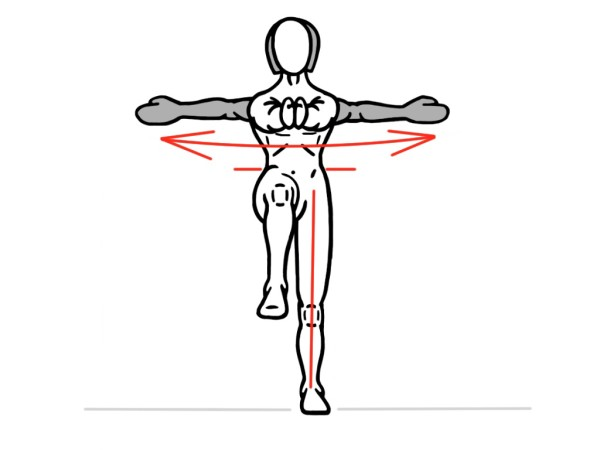 Single Leg Rotation - PreHab Exercise for Ankle and Hip Activation and Stability