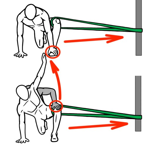 Stretching - Hip Abduction - Joint Distraction - Thoracic and Hip Mobility - Spider-Man Lunge and Reach for Hip Flexion - Hip Abduction and Thoracic Extension