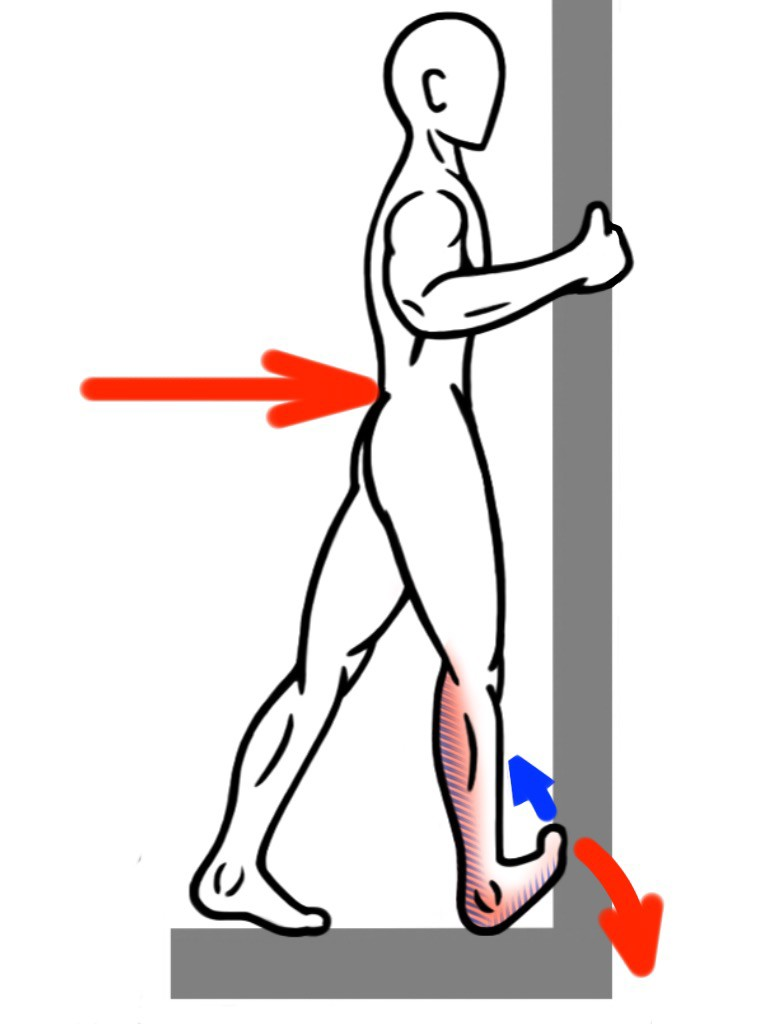 Stretching - PNF Stretch - Contract:Relax - Calf Stretch for the Foot and Ankle Complex