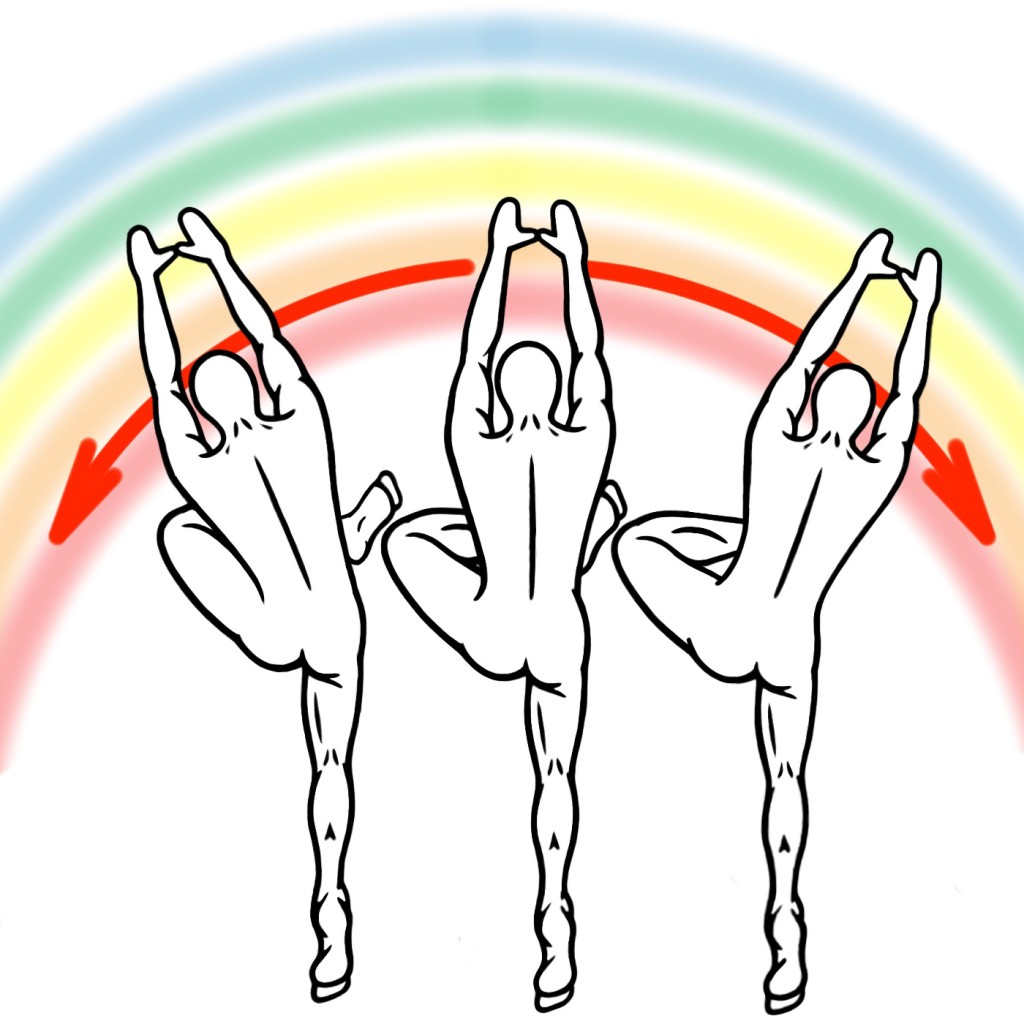 Stretching - Rainbow Variation of Active Stretching