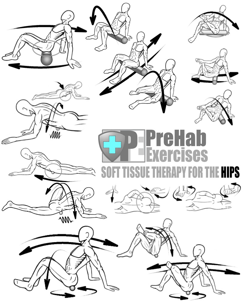prehab-exercise-book-appendix-soft-tissue-therapy-for-the-hips-gluteus-complex-piriformis-hip-flexors-tfl-psoas