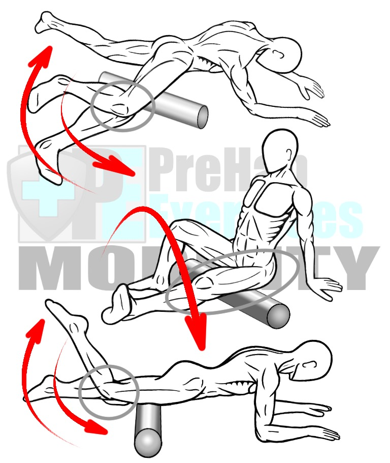 prehab-exercises-foam-rolling-variations-for-the-hamstrings-quadriceps-and-adductors-leg-muscles
