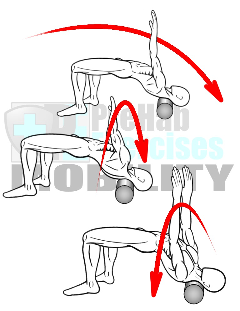 prehab-exercises-foam-rolling-the-trapezius-muscles-with-oscillations-neck-and-shoulder-mobility
