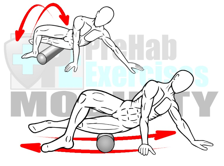 prehab-exercises-foam-rolling-the-vastus-lateralis-biceps-femoris-and-it-band-for-hip-and-knee-alignment-mobility-and-stability